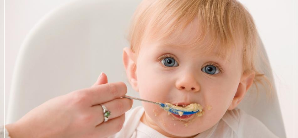 Introdução alimentar do Bebê