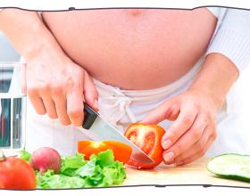 Como manter uma alimentação saudável durante a gestação?
