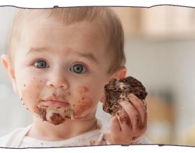 Doces x Bebês. Porque evitar doces até os 2 anos de vida?
